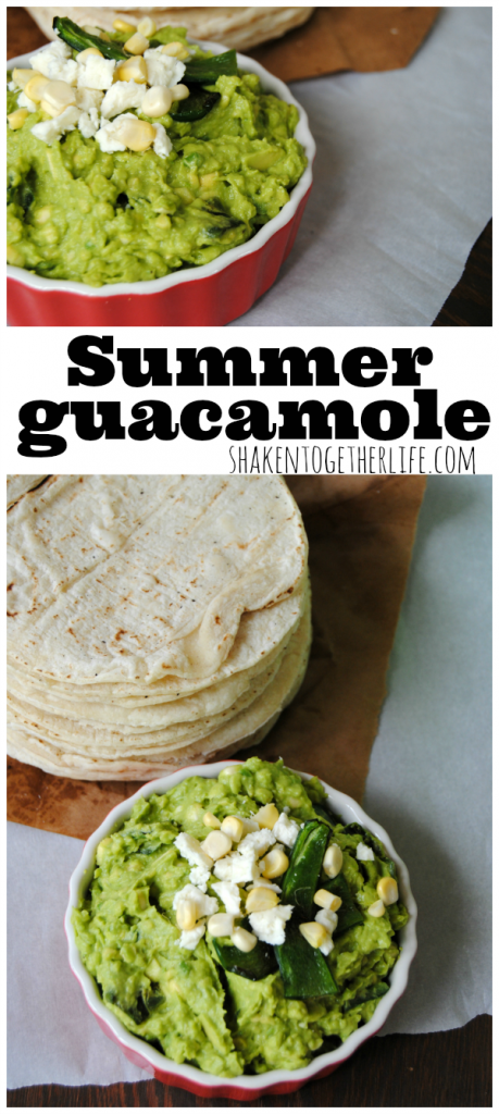 Fresh, flavorful Summer guacamole with a few unexpectedly delicious ingredients!