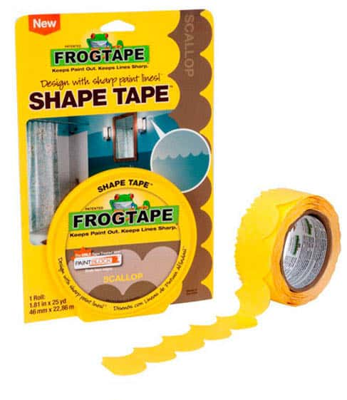 LOVE this FrogTape® Shape Tape™ in scallop!