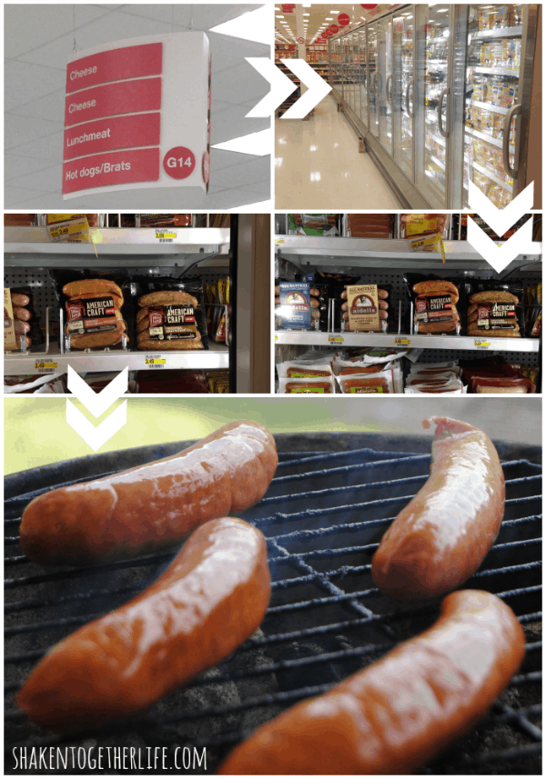 Smoky bourbon sausages go from chilled to grilled in no time - top them with our family's killer BBQ onions!