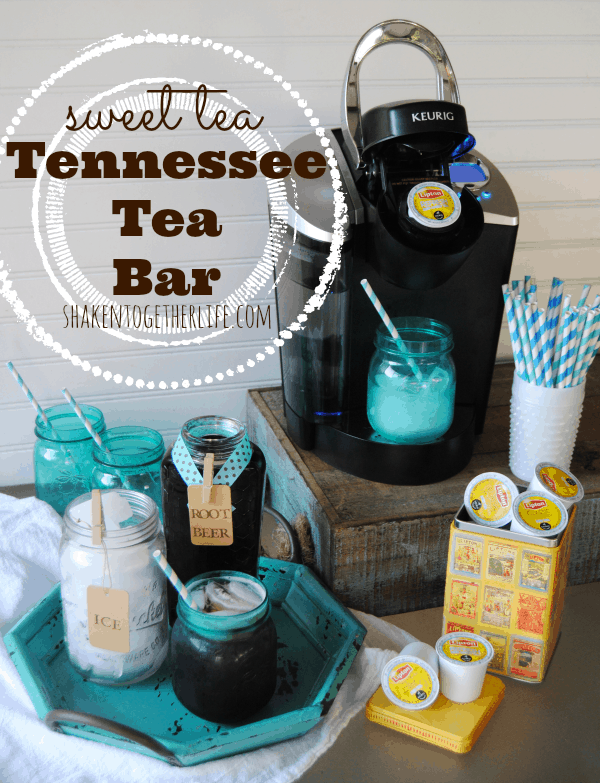 Celebrate Summer with a sweet tea Tennessee tea bar!