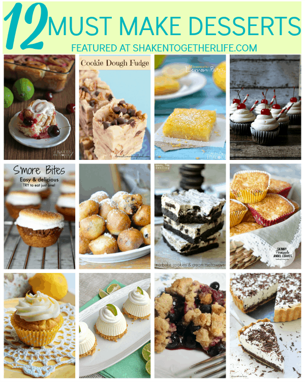 12 droolworthy, do not miss, must make desserts!