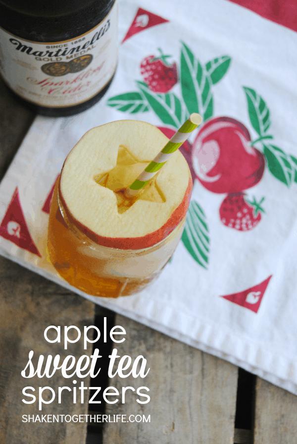 Apple Sweet Tea Spritzers