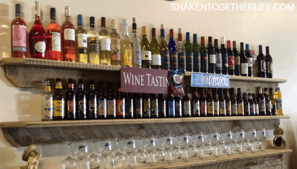 Blue Ridge Tasting Room - awesome for local wines and beer!