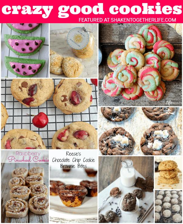 10 CRAZY GOOD cookies for your cookie jar!