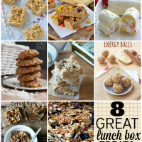 8 great lunch box treats - pack a little smile with lunch today!