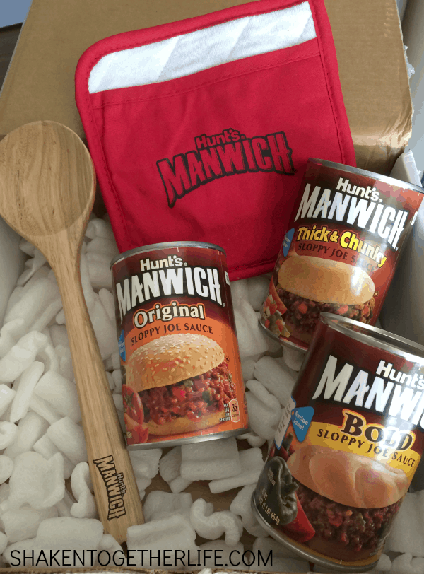 Special delivery! This Manwich is going to become such an easy, tasty weeknight meal!
