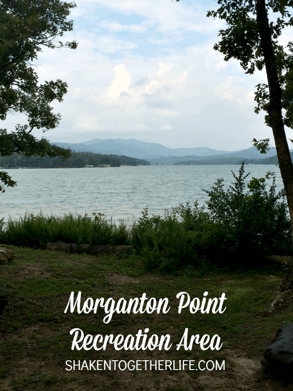 Beautiful Morganton Point Recreation Area