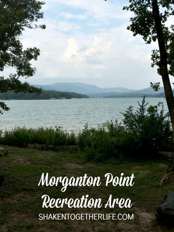 Beautiful Morganton Point Recreation Area