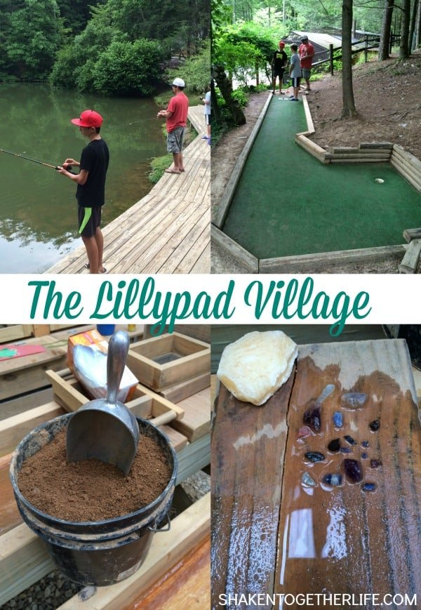 The Lillypad Village - three kinds of family fun!