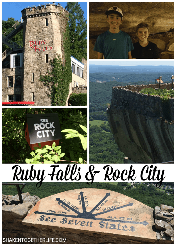 Visiting Ruby Falls & Rock City