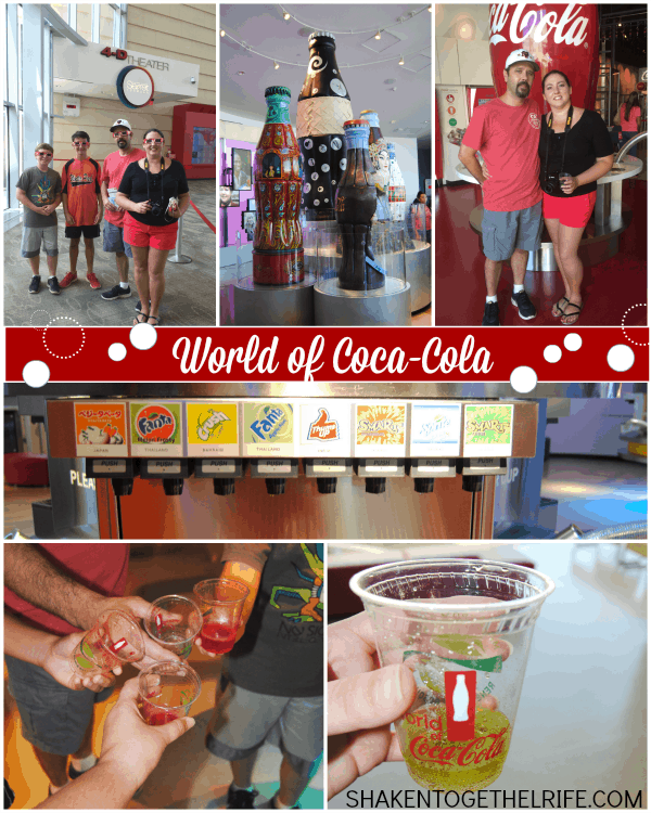 Fun and fizz at the World of Coca-Cola!