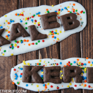 No-Bake Back to School Cookie Bark