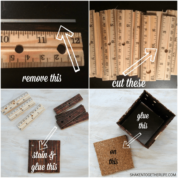 How to make a DIY ruler mason jar caddy - part of the cutest teacher gift EVER!