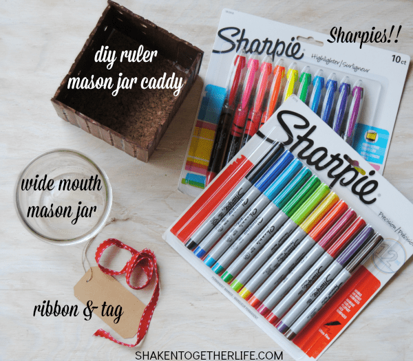 Make a DIY back to school Sharpie teacher gift!