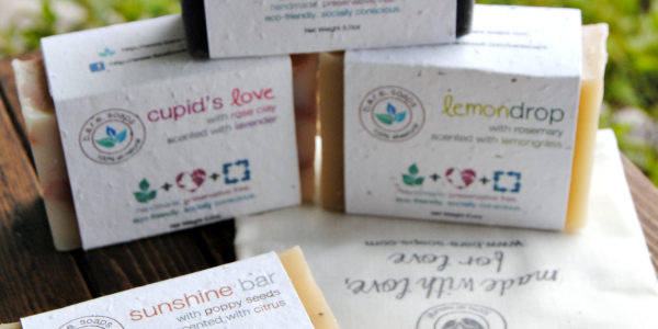 I love these b.a.r.e. soaps so much that I am giving some away!