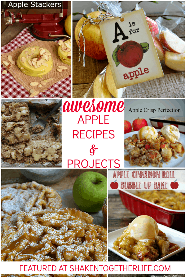 Usher in Fall with these awesome apple recipes and projects!