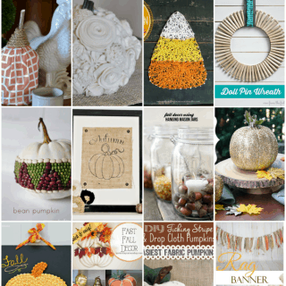 Fresh Fall DIY Home Decor - 12 gorgeous tutorials to add Autumn to your home!