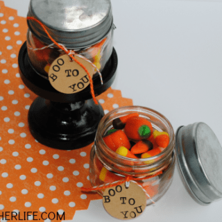 Boo to You Halloween Mason Jar Gifts