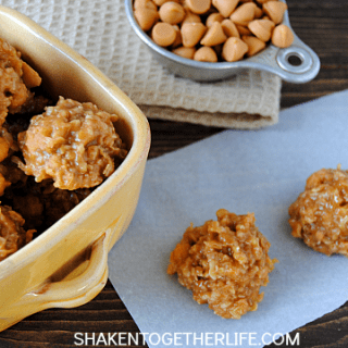 The classic taste of oatmeal scotchies in an easy no bake cookie!
