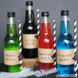 Spooky Sodas – A Fun Halloween Party Idea!