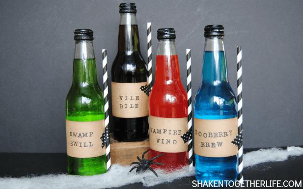 Spooky Sodas - fun Halloween party idea!
