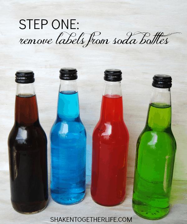 Spooky Sodas - fun DIY Halloween party idea!