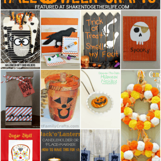 Super cute Halloween crafts and gifts at Shaken Together