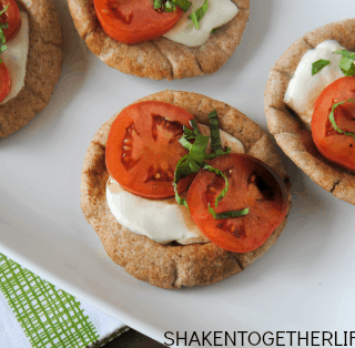 Whole Wheat Pita Caprese Snacks & Student Chef Cook-Off