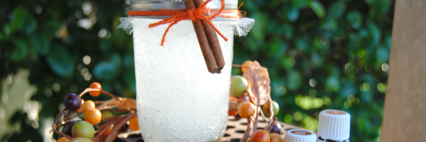 Make a cinnamon orange air freshener - great Fall gift idea!