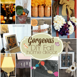 Gorgeous DIY Fall Home Decor – 10 Inspiring Tutorials!
