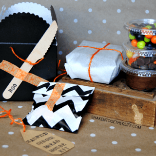 Haunted Halloween Gingerbread House Kit