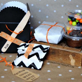 Haunted Halloween Gingerbread House Kit