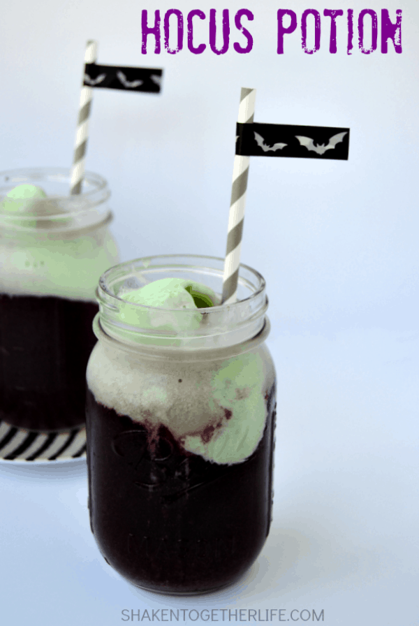 Hocus Potion - a super easy Halloween drink!