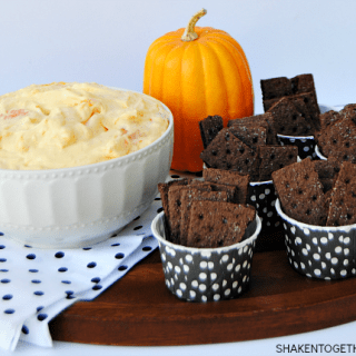 Pumpkin Guts Dip – Only 4 Ingredients!