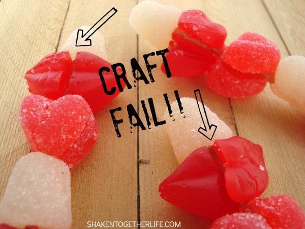 Valentine Candy Kabob - CRAFTFAIL!