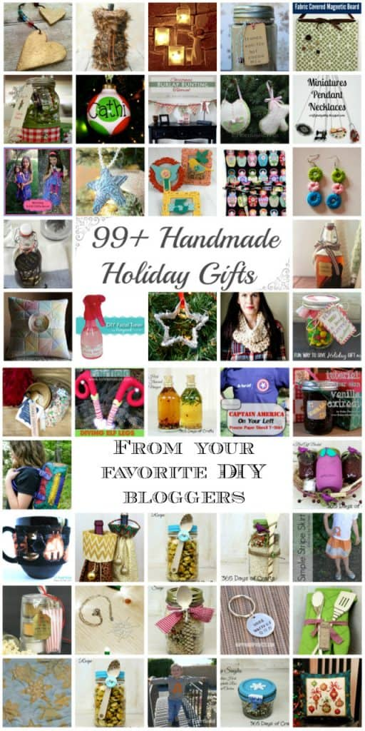 French Vanilla Hot Chocolate Mix and 99+ Handmade Gifts from your favorite DIY bloggers!!