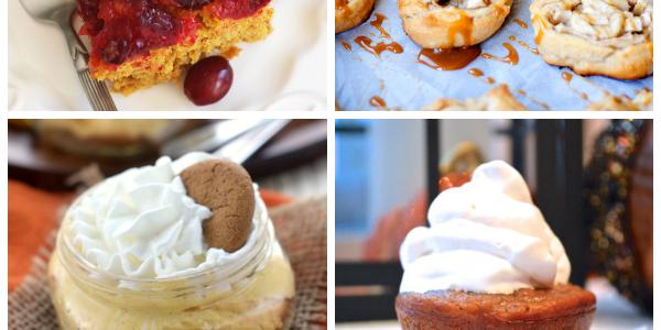10 Thanksgiving dessert ideas that are not pumpkin pie! Add a twist to your Thanksgiving dessert table!