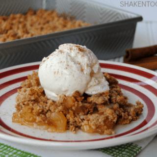 Carrot Cake Apple Crisp & Delicious Oatmeal Recipes
