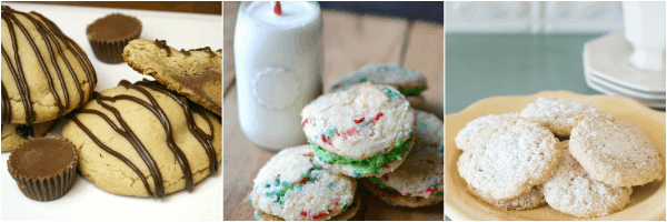 No Bake Eggnog Cookies and 40+ Cookie Recipes - perfect for your cookie trays and cookie exchanges!