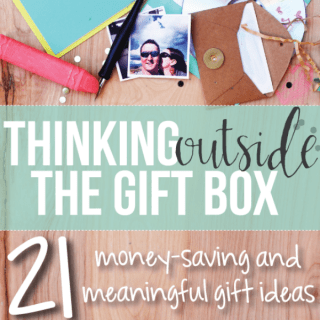 Thinking Outside the Gift Box eBook & Giveaway!!