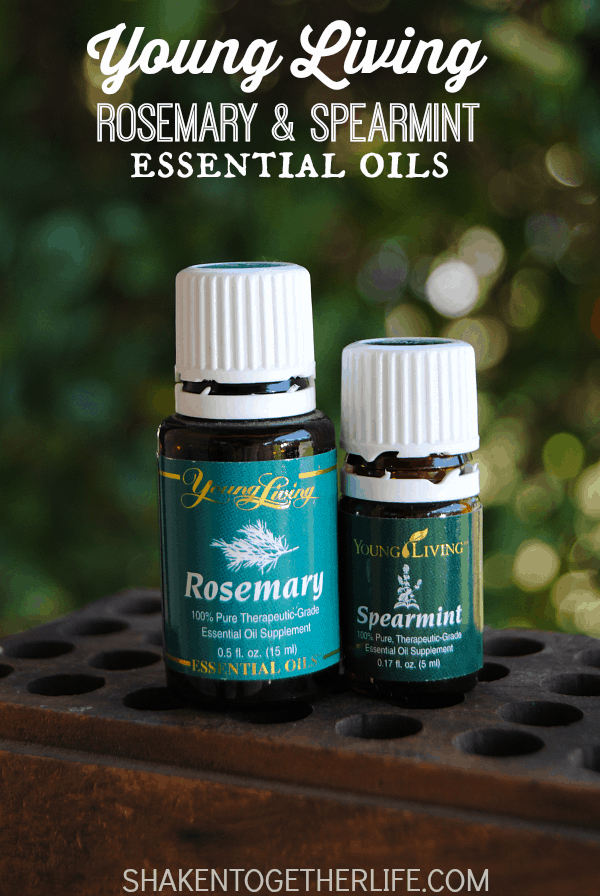 Earthy Rosemary and Bright Spearmint are the perfect blend for a Winter Fresh air freshener!