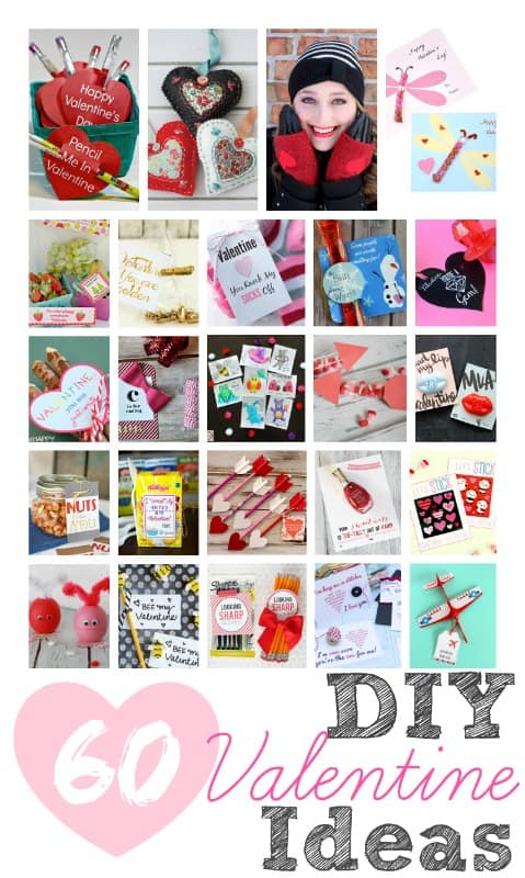 We are Mentos to Be Valentine Gift + 60 more DIY Valentine Ideas!!