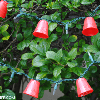Mini Red Solo Cups Lights – Great for Game Day & Parties!