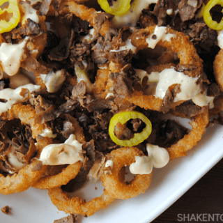 Touchdown Steak & Cheese Onion Rings