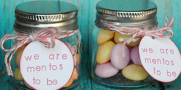 We are Mentos to Be - the cutest little Valentine gift ever!