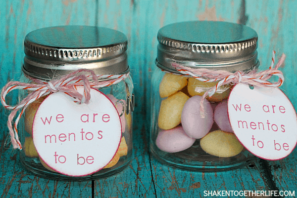 We Are Mentos To Be Valentine Gift