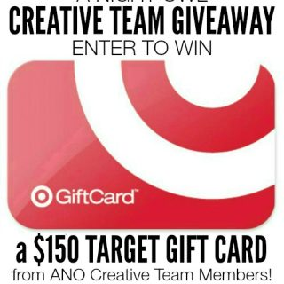 A Night Owl Creative Team $150 Target Giftcard Giveaway