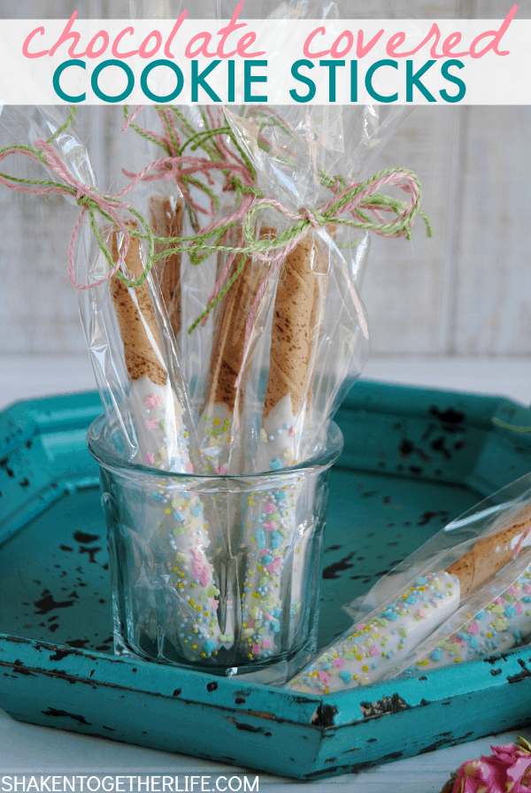 Chocolate Covered Cookie Sticks - quite possibly the most delicious no bake treat I have ever made!