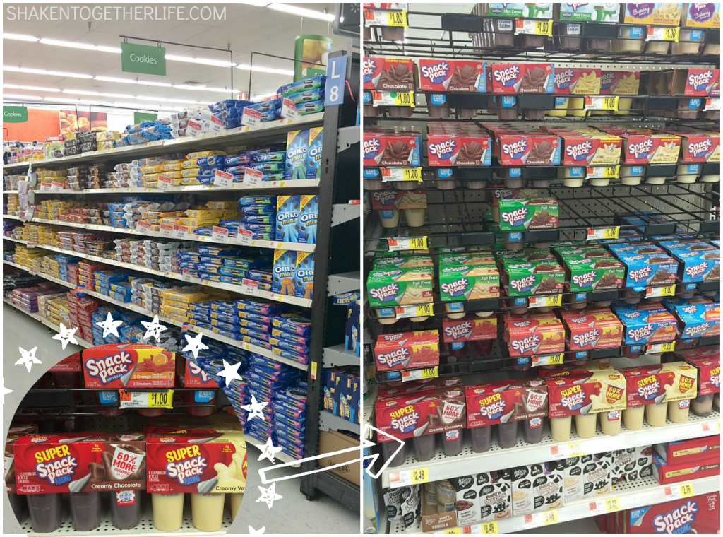You can find the ingredients to make Spring Garden Pudding Cups at Walmart!