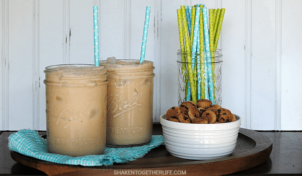 CREAMY COOKIE DOUGH ICED COFFEE